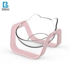 페로가토 냠냠 강아지식기 1구 - 핑크 (n)