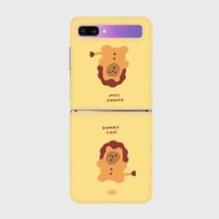 lion gummy Z플립 하드케이스_(938691)