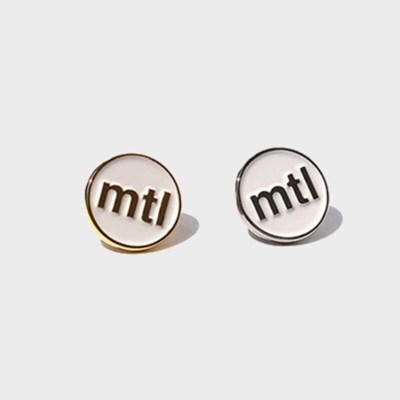 mtl logo badge (gold/silver)