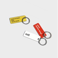mtl basic keyring (3colors)