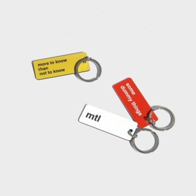 mtl basic keyring (3colors)