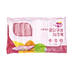 [남도장터]달콤 구워먹는 군고구마 치즈떡 350g x 3팩