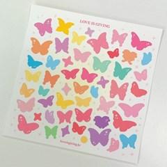 작고 반짝이는 나비 (2ea)