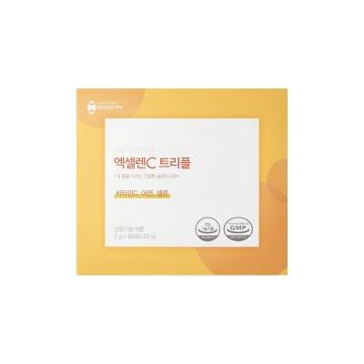 CMG제약 엑셀렌c 트리플(비타민c+셀렌+아연) 60포 2개월분