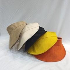자외선차단 여행 패션 데일리 명품 챙넓은 썬캡 모자
