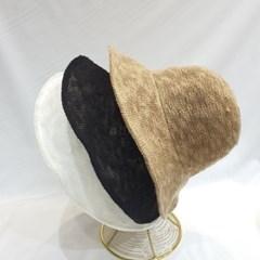 여성 시슬루 패션 명품 챙넓은 버킷햇 벙거지 모자