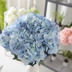 블랜딩수국부쉬 대 55cm 조화 꽃 성묘 장식 FAGAFT_(1834549)