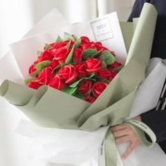 모던50송이로즈꽃다발 60cmP 조화 꽃다발 선물 FMBBFT_(1834430)