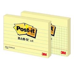 [3M] 포스트잇 657 100매 라인(102*76mm)_(12651449)