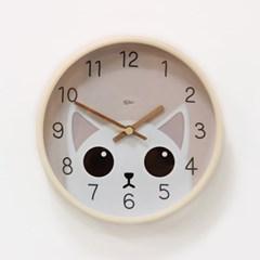 (kdrz144)저소음 큐티 고양이 시계 255_(907455)