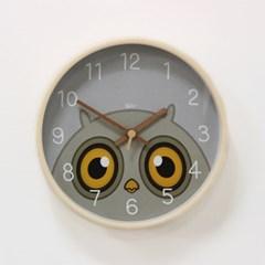 (kdrz145)저소음 큐티 부엉이 시계 255_(907454)