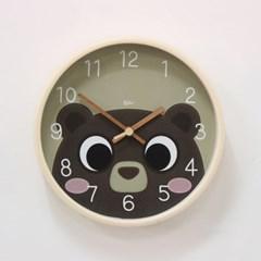 (kdrz146)저소음 큐티 곰돌이 시계 255_(907453)