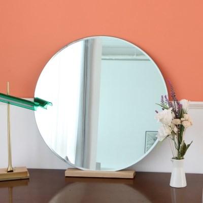 프레임리스 원형거울 5T 면취거울