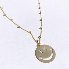[Fruta] Golden smile necklace