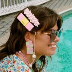 [Fruta] Pink bubblegum hair clip