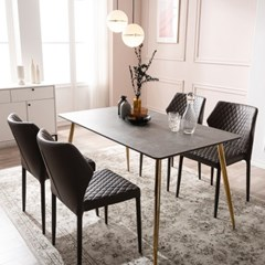 잉글랜더 베르가모 통세라믹 4인용 식탁 세트(의자4)_(12803249)
