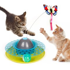 펫토리아 전자장난감 디스크볼 고양이장난감_(1183376)
