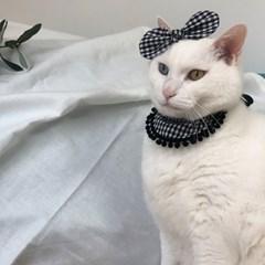 버부리퐁퐁 강아지 고양이 케이프 스카프
