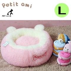 뽀글이 구름방석 L 핑크 애견용품 하우스 쿠션