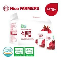 나이스파머스 더 진한 NFC 유기농 석류즙 70ml 30포 1박스 선물포장