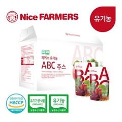 나이스파머스 유기농 액상 ABC주스 110ml 30포 1박스 선물포장