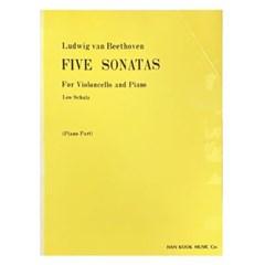 (전시상품)Ludwig van Beethoven FIVE SONATAS