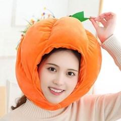 큐티 후드모자 [호박] 오렌지_(12076240)