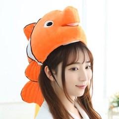 큐티 후드모자 [열대어] 오렌지_(12076239)