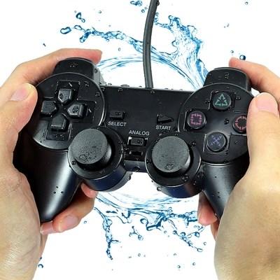 완벽 호환 PS2 게임패드 플레이스테이션2 컨트롤러