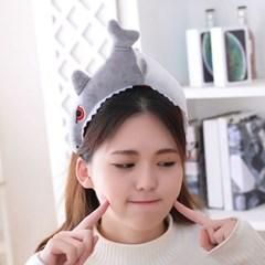큐티 머리띠 [무서운 상어] 그레이_(12076314)