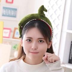 큐티 머리띠 [무서운 공룡] 그린_(12076313)