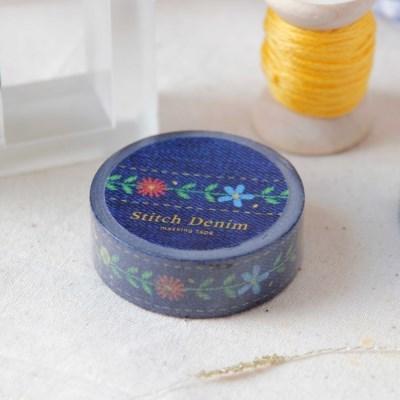Stitch Denim Masking Tape [Blue Denim]
