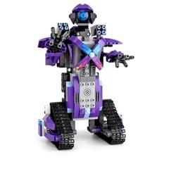 블럭 테크닉 스마트 로봇 퍼플 블럭RC 331pcs