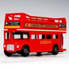 [모터맥스] 4.75인치 런던버스 오픈탑 미니카 (540M76008)