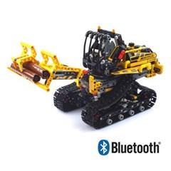 블럭 테크닉 블루투스 스마트 중장비 로그 로더 블럭RC 873pcs