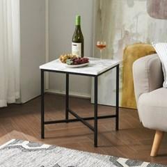 수어사이드 테이블 480 마블 사각 쇼파 침대 간이 협탁_(208914)