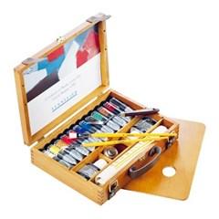 [시넬리에]전문가 유화물감세트 12색   WoodenBOX   N13_(12645683)