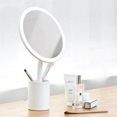 뷰센트 트윙클 탁상 LED 조명 화장 거울