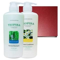 [로라로세] 티오피라 허벌 헤어 2종 선물세트 - 로즈마리