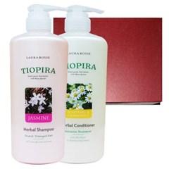 [로라로세] 티오피라 허벌 헤어 2종 선물세트 - 쟈스민