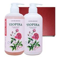 [로라로세] 티오피라 바디 2종 선물세트 - 로즈