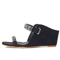 kami et muse Cubic beads strap wedge heel mule _KM20s261