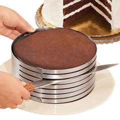 크기조절 7단 케이크 슬라이서