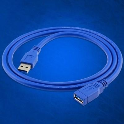 USB 3.0 연장케이블 외장하드 프린터 연장선 연결 선