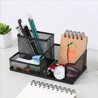 메시 철제 다용도 연필 펜 꽂이_(336557)