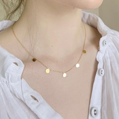 tambourine necklace (2colors)