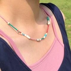 pastel chip necklace