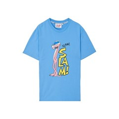 [Pink Panther] Slam S/S T-shirts(Sky Blue)_(785988)