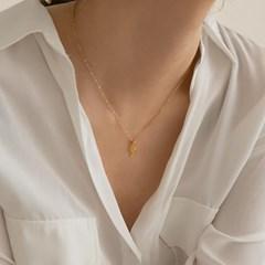 14k gf G-clef pendant necklace (14k 골드필드)