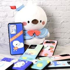 국내 캐릭터 피누 정품 카드 슬라이더 케이스 - 아이폰